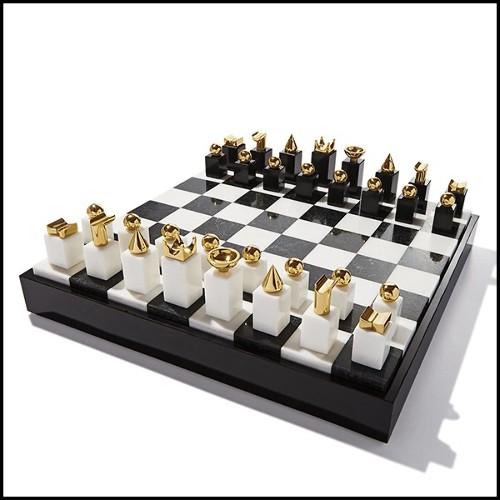 Table basse en bois pétrifié noir avec base en acier inoxydable poli 24-Stoned Petrified Wood Black