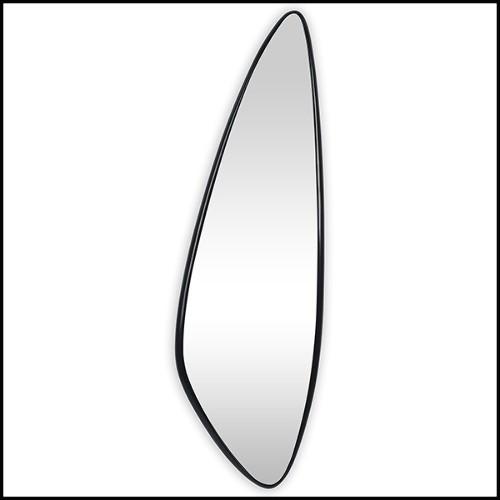 Tabouret avec tissu panama zebra ou tissu gris argenté satiné ou tissu noir satiné 24-Stylish