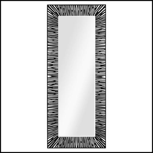 Applique avec structure en laiton finition Gold ou nickel et verre clair 24-Arcanta M