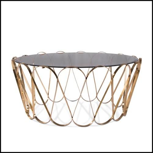 Grand fauteuil couvert avec véritable peau de girafe et cornes de buffle PC-Girafle