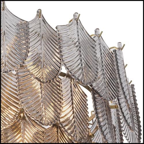 Porte-revues avec structure finition Gold métal et cuir style crocodile 162-Mag Holder