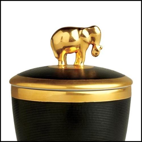 Table d'appoint avec structure en noyer massif fabriqués à la main 163-Linea
