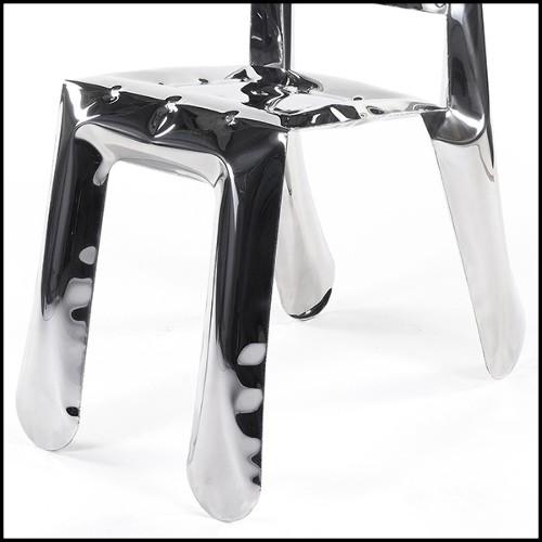 Miroir avec cadres en bois d'acajou massif finition Gold antique 119-Diamonds
