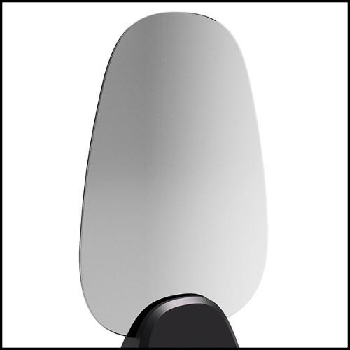 Pièce sculptée à la main dans un bloc de calcaire javanais 119-Serenity