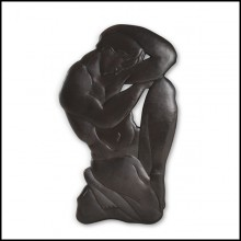 Sculpture Wall Art Decoration 119-Thinker