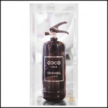 Extinguisher Coco Chanel black under plexiglass box PC-Coco Chanel