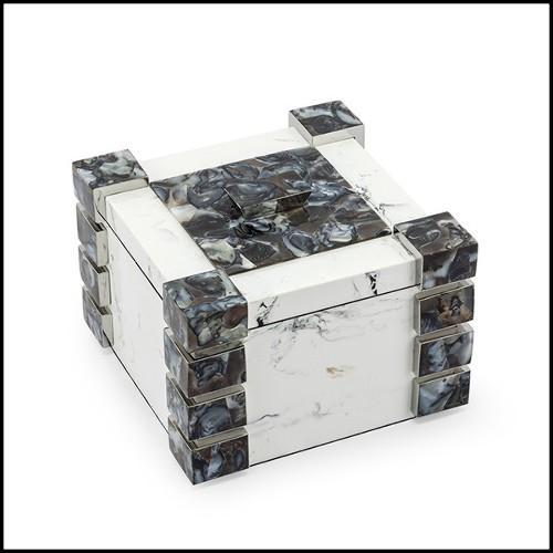 Table basse en bois massif avec plateau coulissant 162-Designy Woody