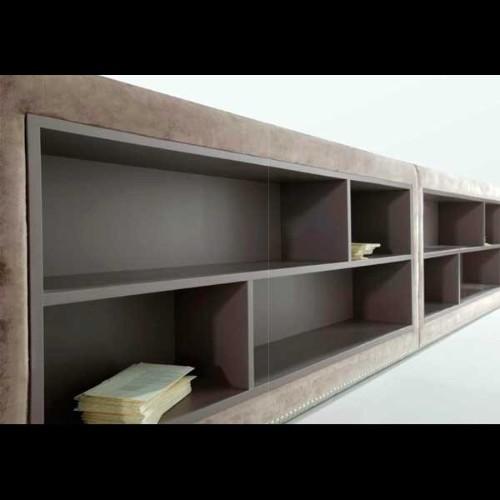 Miroir sculpté avec cadre en acier inox 107-PENTHOUSE