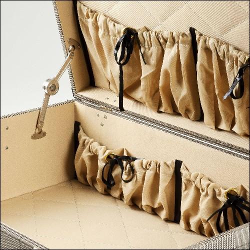 Maquette d'avion fabriquée à la main avec cadre en bois léger en feuille d'aluminium et rivets en métal gravé 113-Lockheed L1049
