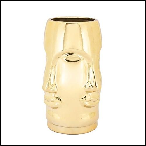Set de deux bougeoirs perroquets en porcelaine émaillée bleue peinte à la main 162-Blue Parrot