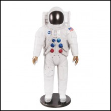 Sculpture life-size in Resin US Astronaut NASA PC-US Astronaut NASA