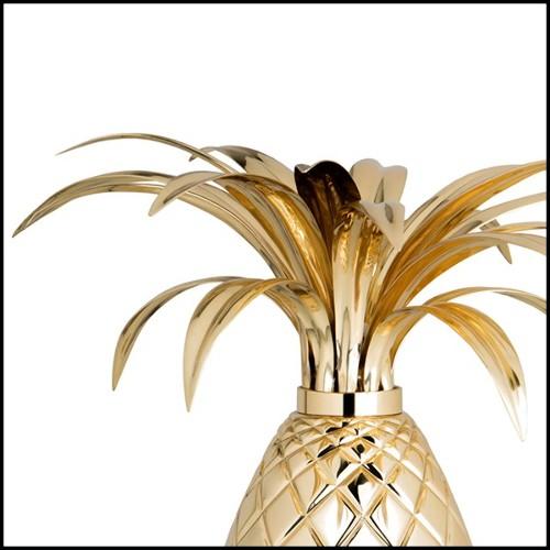 Coupe avec structure finition métal plaqué argent et coquille naturelle 162-Ostrich