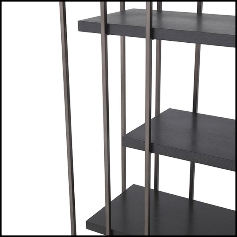 Table De 70's Style Lampe Laiton Vintage Structure Avec 24 Finition Y6ygvbf7