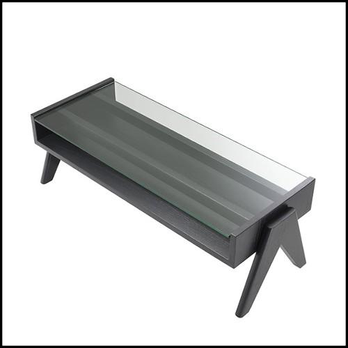 Tabouret ou chaise en bois de cèdre massif naturel avec traitement à la cire d'extrait de pin naturel 154-Curved