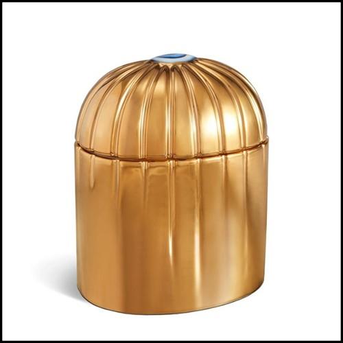 Miroir avec 18 miroirs et anneaux finition black sur 9 miroirs 119-Rings
