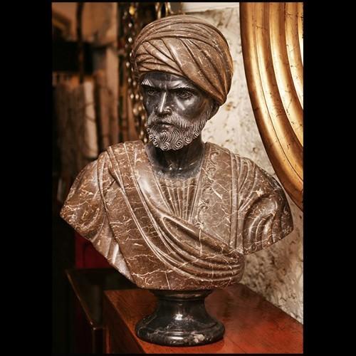 Miroir avec structure en acajou massif sculpté à la main finition Gold ou argentée 119-Exquisite