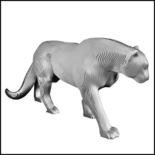Table d'appoint avec structure en bois massif et recouvert de cuir blanc de haute qualité 150-Extand Set of 2