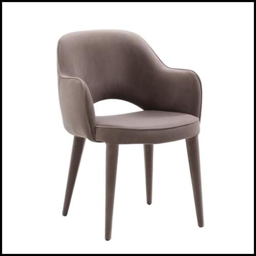 Table basse avec structure en aluminium poli 30-Alu Fusion