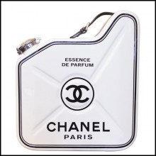 Jerrican art piece PC-Chanel N°5 White