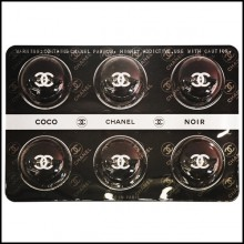 Panel Pills wall decoration PC-Pills Chanel Black