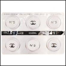 Décoration murale plaquette de pilules PC-Pills Chanel White