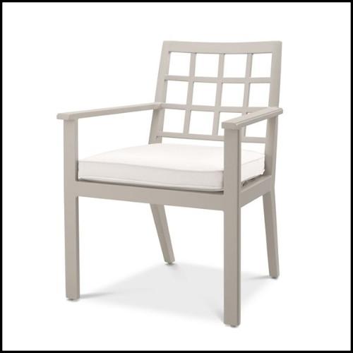 Tabouret en bois de cèdre aromatique naturel 154-Riad Cedar