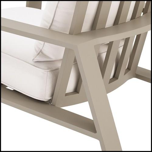 Bol peint à la main en porcelaine blanche avec un cadre en bronze 162-Birds Porcelain