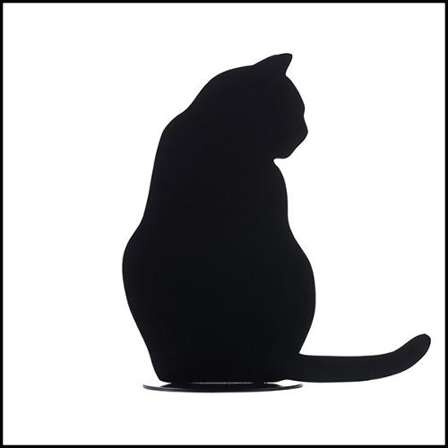 Vase avec structure en nickel et poignées en plaqué or 24 carats 172-Bamboo Gold Plated