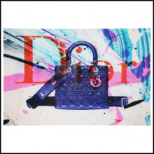 Photo décoration murale en plexiglas PC-Dior Bag