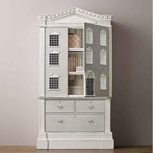 Console avec structure en acier inoxydable finition Gold 24-Barow