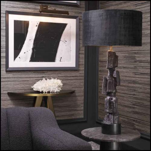 Sculpture réalisée à la main avec cabochons de corail rouge 172-Red Coral