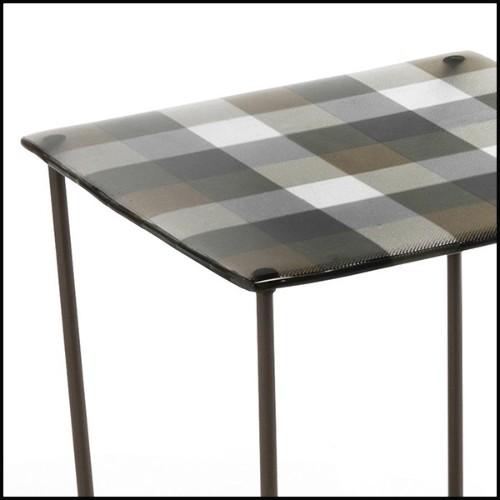 Chaise avec structure en bois de noyer massif 174-Smart Walnut