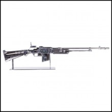 Browning Double Size Rifle Sculpture All Chromed  PC-Browning Rifle
