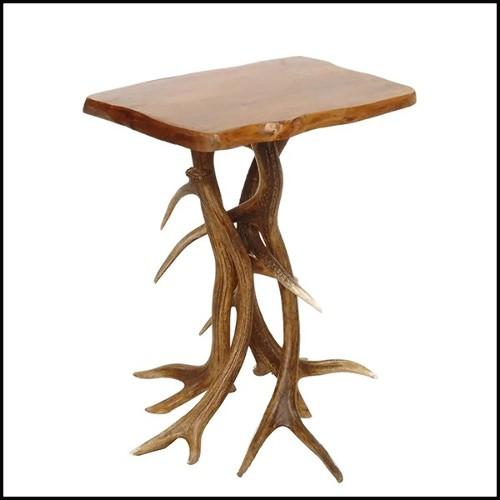 Set de deux Étagères avec signes du zodiaque sculptés PC-Zodiac Signs