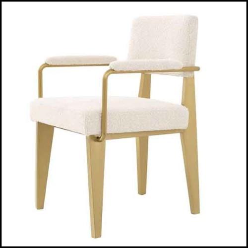 Banc en bois de cèdre aromatique naturel et massif et en acier brut 154-Cedar and Steel