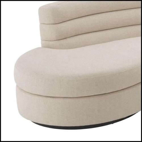 Miroir avec cadre en acier inoxydable finition Gold ou poli et verre miroir biseauté 24-Triple Circled
