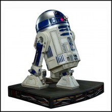 Sculpture R2D2 life size model star wars PC-R2D2