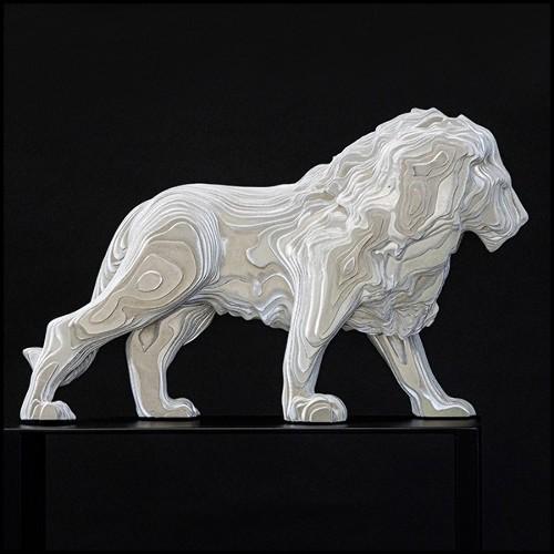Chaise avec structure en bois massif et cuir véritable marron naturel 176-Diesel Brown