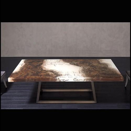 Fauteuil avec structure en bois massif revêtu en velours blanc et cadre finition Gold 162-Harry