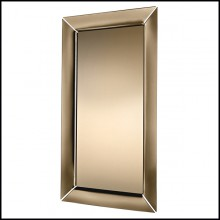 Floor or wall mirror with frame in bronzed finish glass 146-Art Frame Bronze