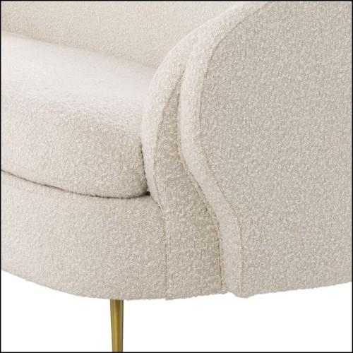 Chaise avec structure en acier et rotin naturel 178-Bundle Center