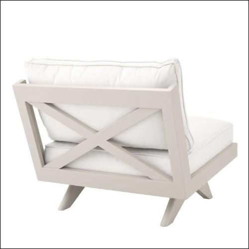 Lanterne avec structure en acier inoxydable finition nickel verre clair et anse en cuir de boeuf tané 24-GEORGIAN L