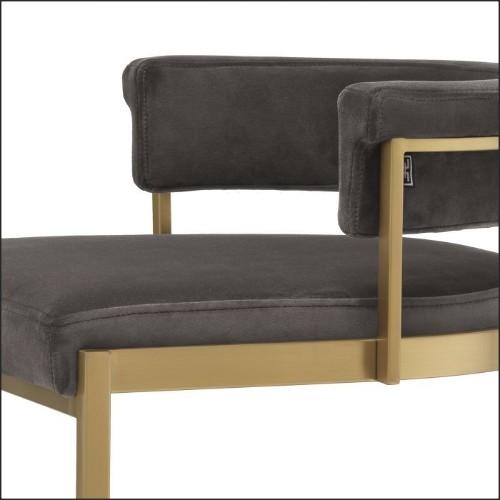 Lanterne avec structure en acier inoxydable finition nickel et verre clair 24-Dehli XS