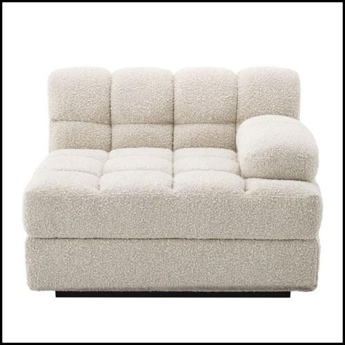 Table d'appoint avec dessus en eucalyptus massif verni 180-Convex Bronze