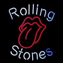 Wall light neon PC-Rolling Stones