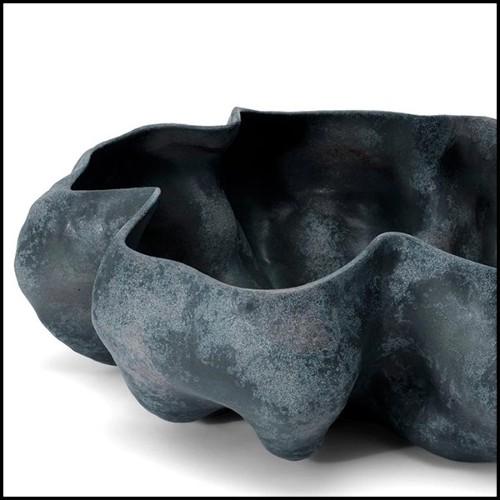 Miroir avec cadre en laiton vintage et avec miroir en verre 146-Cuadro Rectangular