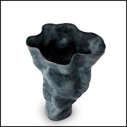 Miroir avec cadre en laiton vintage et avec miroir en verre 146-Cuadro Square