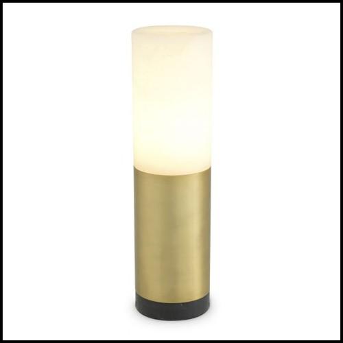 Sculpture de crâne en porcelaine blanc 172-Skull White