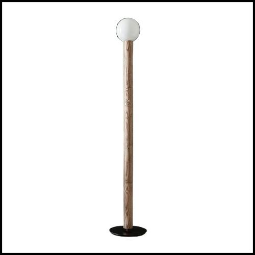 Table d'appoint avec base en inox et plateau en MDF peint anthracite gris vélin 173-Charcoal Grey