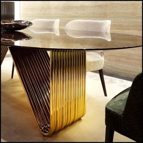 Canapé en bois de Hêtre avec peau de Zèbre, cornes de Zebu et amethyste PC-Sofa Zebra
